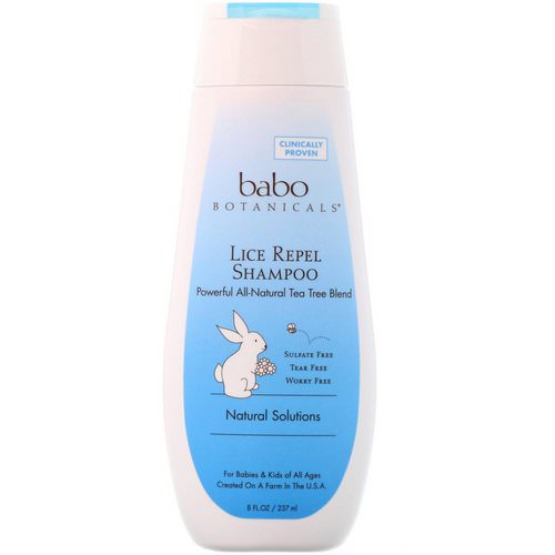Babo Botanicals, Lice Repel Shampoo, 8 fl oz (237 ml) Review
