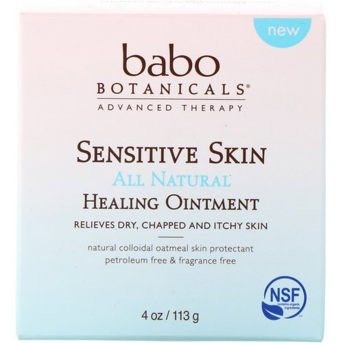 Babo Botanicals, Sensitive Skin, All Natural, Healing Ointment, 4 oz (113 g) Review