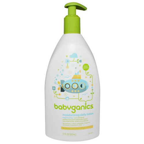 BabyGanics, Moisturizing Daily Lotion, Fragrance Free, 17 fl oz (502 ml) Review