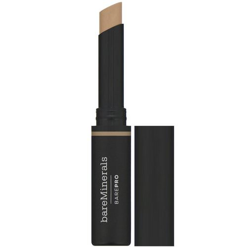 Bare Minerals, BAREPRO, 16-Hour Full Coverage Concealer, Tan-Warm 09, 0.09 oz (2.5 g) Review