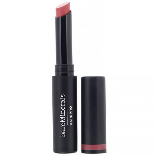 Bare Minerals, BAREPRO, Longwear Lipstick, Bloom, 0.07 oz (2 g) Review