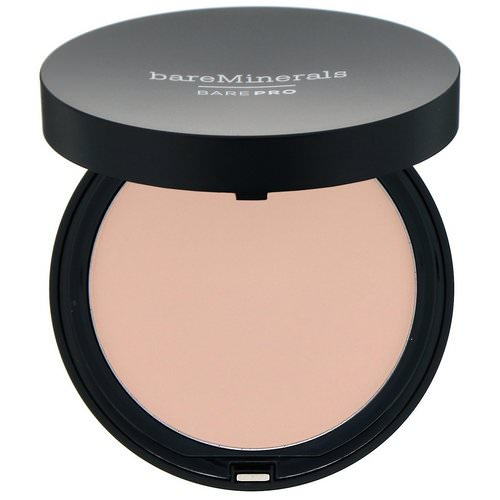 Bare Minerals, BAREPRO, Performance Wear Powder Foundation, Fair 01, 0.34 oz (10 g) Review