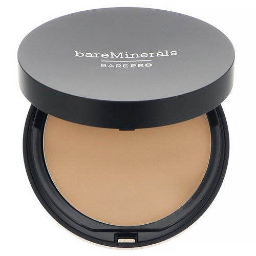 Bare Minerals, BAREPRO, Performance Wear Powder Foundation, Warm Natural 12, 0.34 oz (10 g) Review