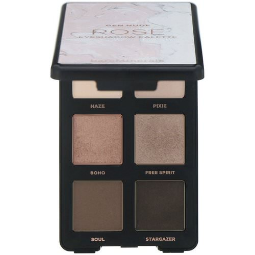 Bare Minerals, GEN NUDE, Eyeshadow Palette, Rose, 0.18 oz (6.6 g) Review