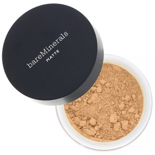 Bare Minerals, Matte Foundation, SPF 15, Golden Ivory 07, 0.21 oz (6 g) Review