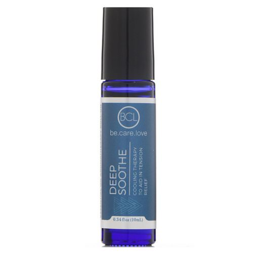 BCL, Be Care Love, Essential Oil Aromatherapy Roll-On, Deep Soothe, 0.34 fl oz (10 ml) Review
