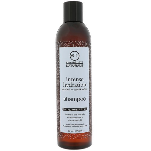 BCL, Be Care Love, Naturals, Intense Hydration, Shampoo, 10 oz (295 ml) Review