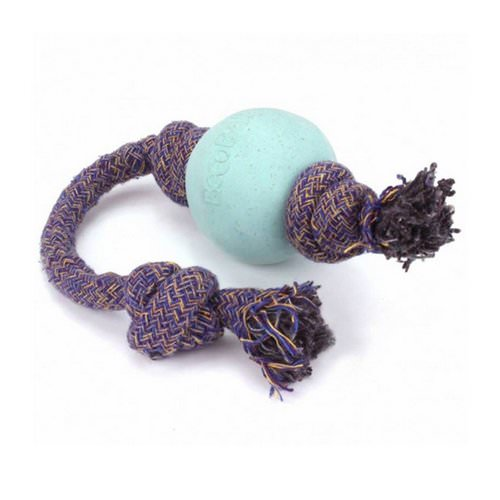 Beco Pets, Eco-Friendly Dog Ball On a Rope, Large, Blue, 1 Rope Review