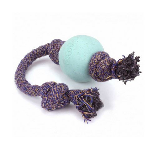 Beco Pets, Eco-Friendly Dog Ball On a Rope, Small, Blue, 1 Rope Review