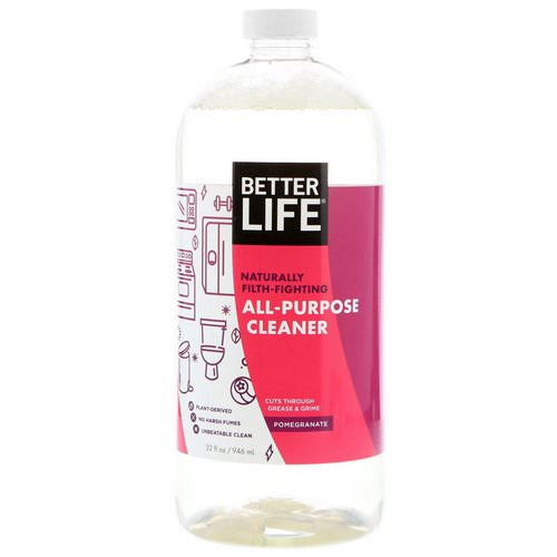 Better Life, All-Purpose Cleaner, Pomegranate, 32 fl oz (946 ml) Review