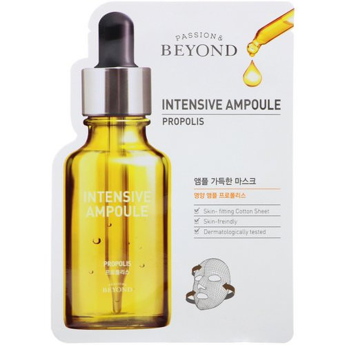Beyond, Intensive Ampoule, Propolis Mask, 1 Mask Review