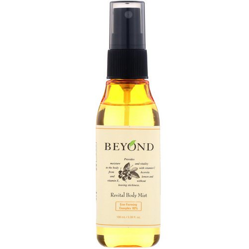 Beyond, Revital Body Mist, 3.38 fl oz (100 ml) Review