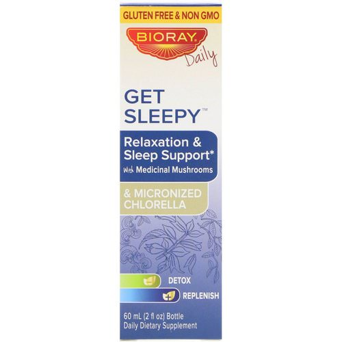 Bioray, Get Sleepy, Relaxation & Sleep Support, 2 fl oz (60 ml) Review