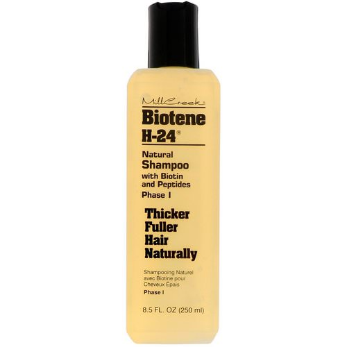 Biotene H-24, Natural Shampoo with Biotin and Peptides, Phase I, 8.5 fl oz (250 ml) Review