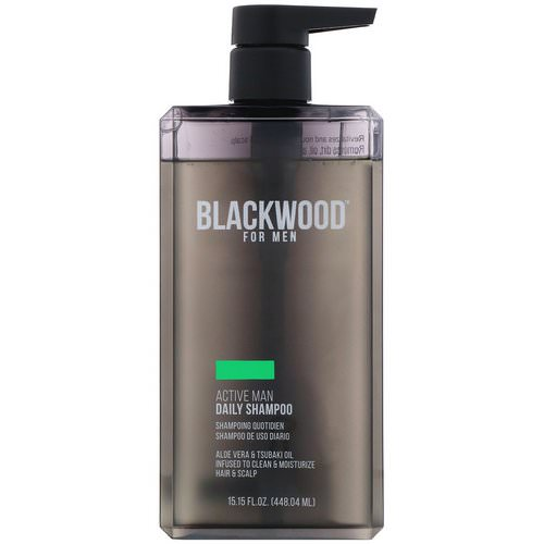 Blackwood For Men, Active Man Daily Shampoo, For Men, 15.15 fl oz (448.04 ml) Review