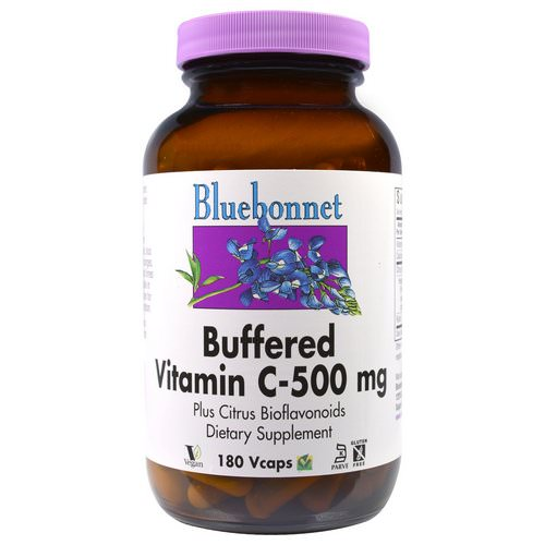 Bluebonnet Nutrition, Buffered Vitamin C, 500 mg, 180 Vcaps Review