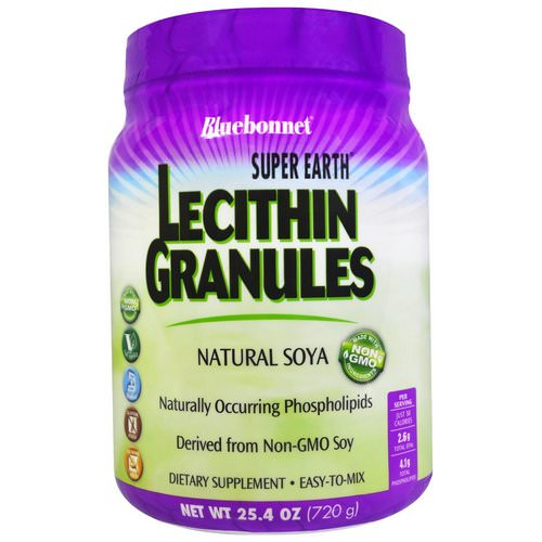 Bluebonnet Nutrition, Super Earth, Lecithin Granules, 1.6 lbs (720 g) Review