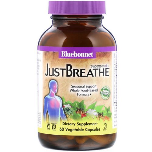 Bluebonnet Nutrition, Targeted Choice, JustBreathe, 60 Vegetable Capsules Review