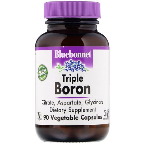 Bluebonnet Nutrition, Triple Boron, 90 Vegetable Capsules Review