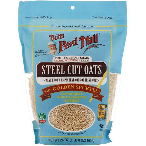 Bob's Red Mill, Steel Cut Oats, Whole Grain, 24 oz (680 g) Review