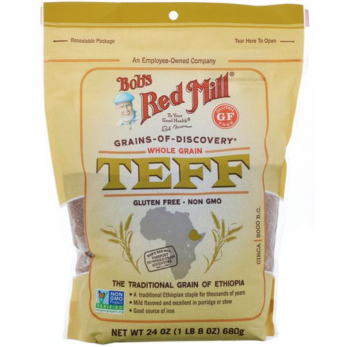 Bob's Red Mill, Teff, Whole Grain, 24 oz (680 g) Review