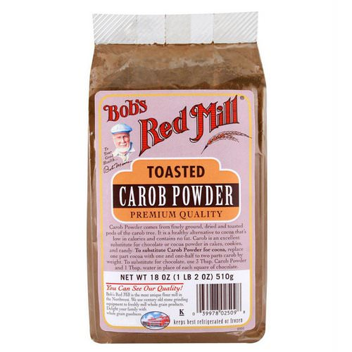 Bob's Red Mill, Toasted Carob Powder, 18 oz (510 g) Review