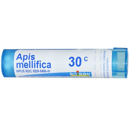 Boiron, Single Remedies, Apis Mellifica, 30C, Approx 80 Pellets Review
