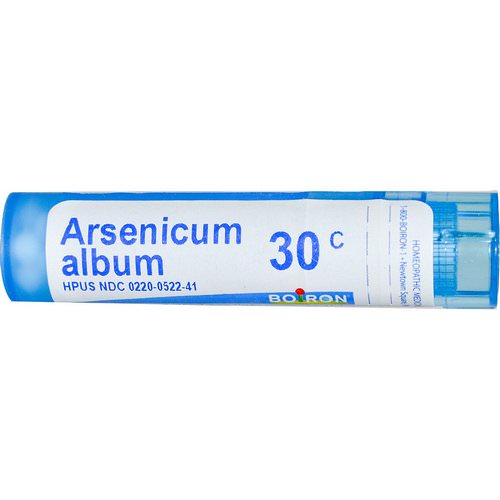 Boiron, Single Remedies, Arsenicum Album, 30C, Approx 80 Pellets Review