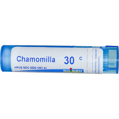 Boiron, Single Remedies, Chamomilla, 30C, Approx 80 Pellets Review