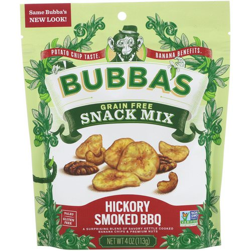 Bubba's Fine Foods, Snack Mix, Hickory Smoked BBQ, 4 oz (113 g) Review