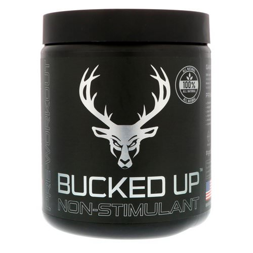 Bucked Up, Pre-Workout, Non-Stimulant, Raspberry Lime Ricky, 11.36 oz (322 g) Review