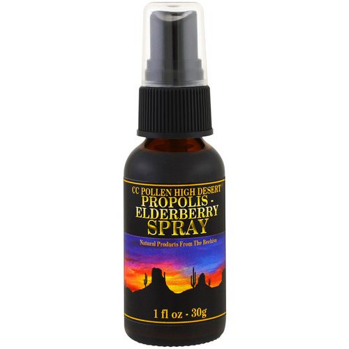 C.C. Pollen, Propolis Elderberry Spray, 1 fl oz (30 g) Review