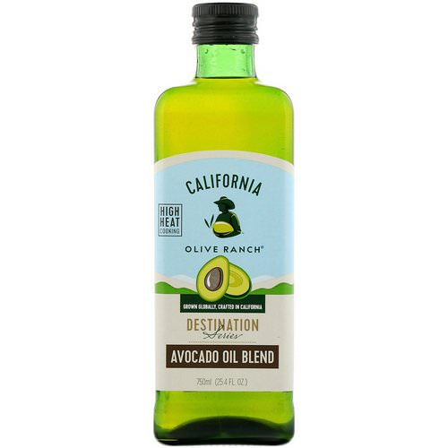 California Olive Ranch, Avocado Oil Blend, Destination Series, 25.4 fl oz (750 ml) Review