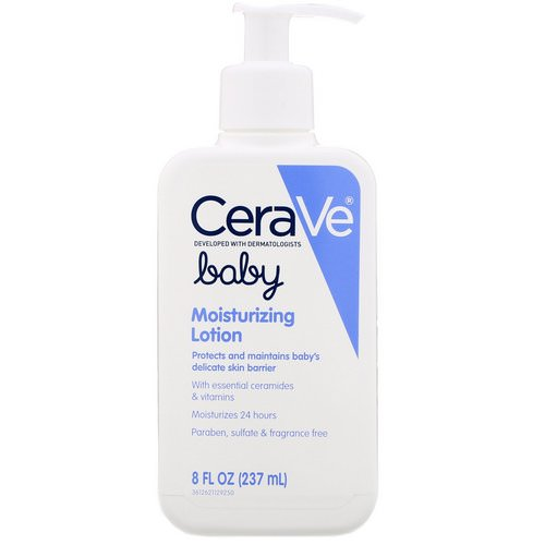 CeraVe, Baby, Moisturizing Lotion, 8 fl oz (237ml) Review