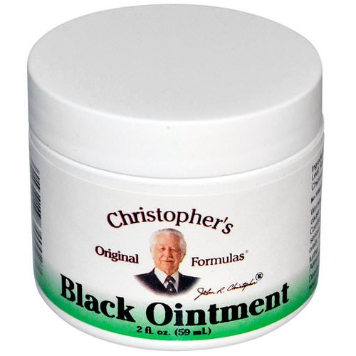 Christopher's Original Formulas, Black Ointment, Anti-Inflammatory, 2 fl oz (59 ml) Review