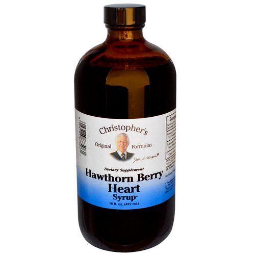 Christopher's Original Formulas, Hawthorn Berry Heart Syrup, 16 fl oz (472 ml) Review