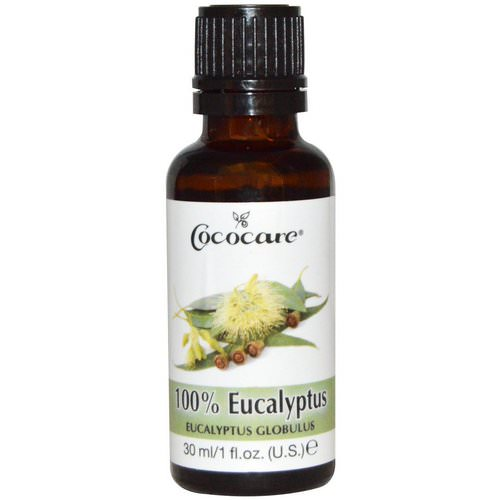 Cococare, 100% Eucalyptus Oil, 1 fl oz (30 ml) Review