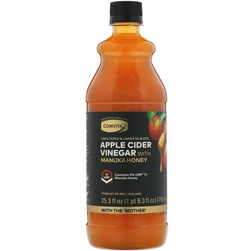 Comvita, Apple Cider Vinegar with Manuka Honey, UMF 5+, 25.3 fl oz (750 ml) Review