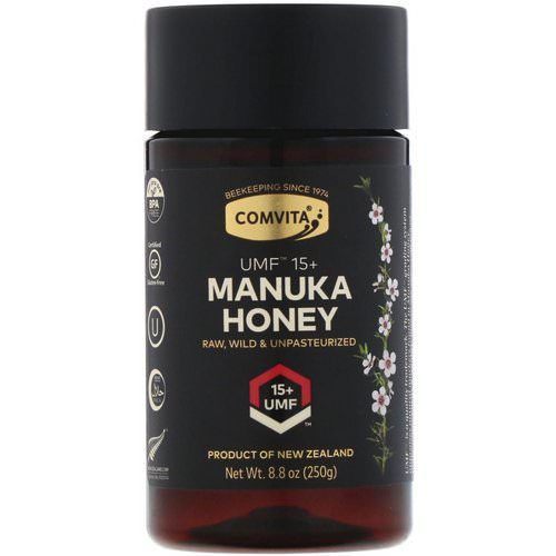 Comvita, Manuka Honey, UMF 15+, 8.8 oz (250 g) Review