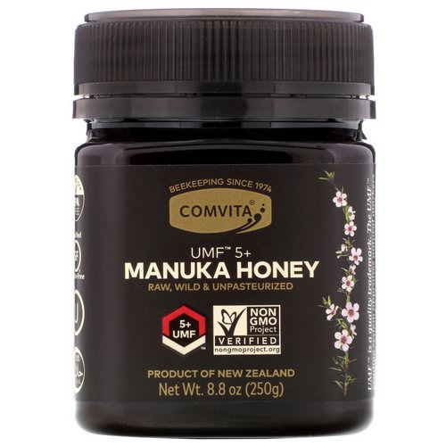 Comvita, Manuka Honey, UMF 5+, 8.8 oz (250 g) Review
