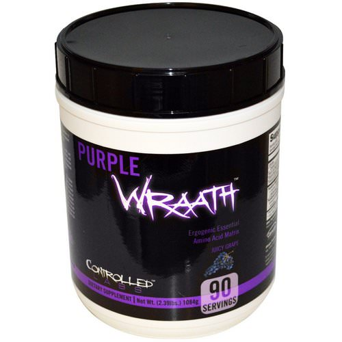 Controlled Labs, Purple Wraath, Juicy Grape, 2.39 lbs (1084 g) Review