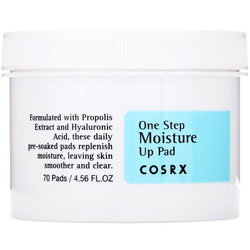 Cosrx, One Step Moisture Up Pad, 70 Pads (135 ml) Review