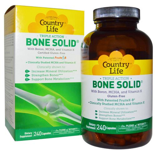 Country Life, Bone Solid, 240 Capsules Review