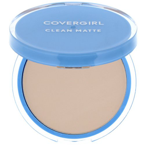 Covergirl, Clean Matte, Pressed Powder, 510 Classic Ivory, .35 oz (10 g) Review