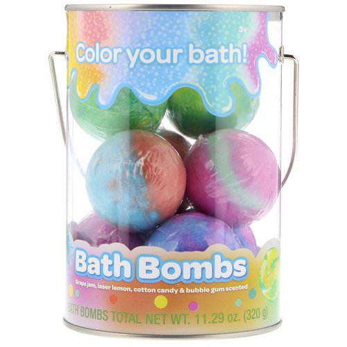 Crayola, Bath Bombs, Grape Jam, Laser Lemon, Cotton Candy & Bubble Gum Scented, 8 Bath Bombs, 11.29 oz (320 g) Review