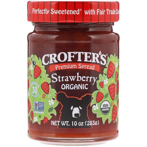 Crofter's Organic, Crofter's, Organic Strawberry, 10 oz (283 g) Review