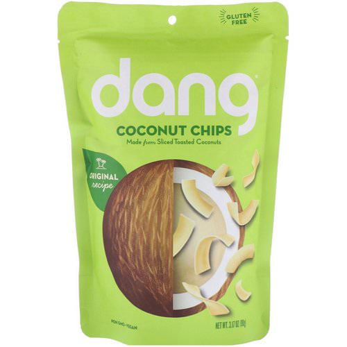 Dang, Coconut Chips, 3.17 oz (90 g) Review