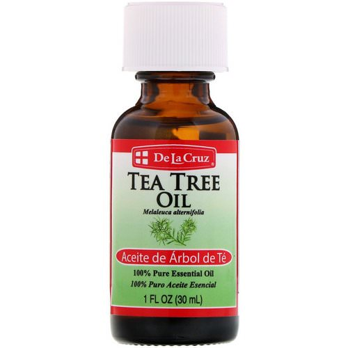 De La Cruz, Tea Tree Oil, 100% Pure Essential Oil, 1 fl oz (30 ml) Review