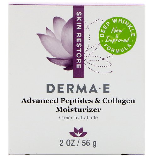Derma E, Advanced Peptides & Collagen Moisturizer, 2 oz (56 g) Review