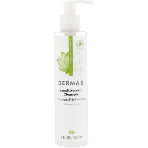 Derma E, Sensitive Skin Cleanser, 6 fl oz (175 ml) Review